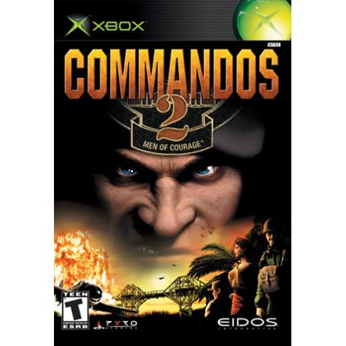 commandos 2 men of courage for xbox original fighting