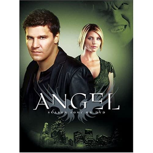 Image 0 of Angel Season Four On DVD With David Boreanaz 4