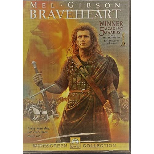 Image 0 of Braveheart Movie On DVD With Mel Gibson
