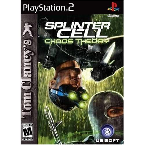 Tom Clancy's Splinter Cell Chaos Theory For PlayStation 2 PS2