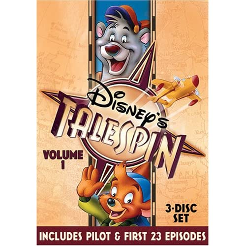 Image 0 of Buena Vista Home Video Talespin On DVD