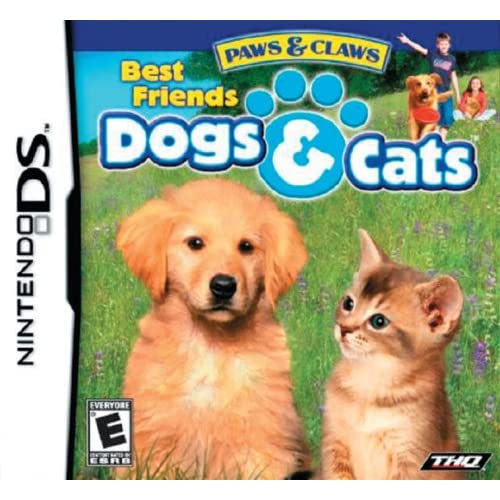Image 0 of Paws And Claws Dogs And Cats Best Friends For Nintendo DS DSi 3DS 2DS