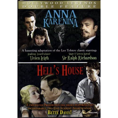 Image 0 of Anna Karenina+hell's Houseslim Casedouble Feature On DVD With Vivien Leigh-Sir R