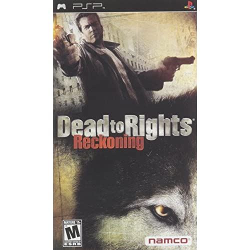 Image 0 of Dead To Rights Sony For PSP UMD