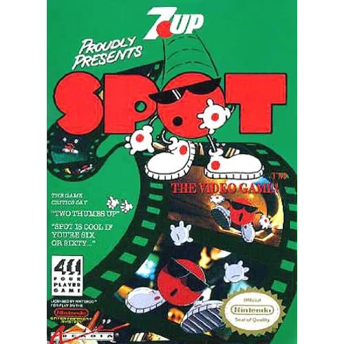 Image 0 of Spot: The Video Game For Nintendo NES Vintage