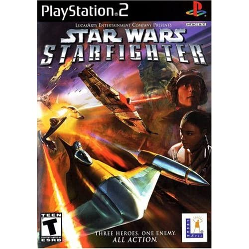 Image 0 of Star Wars: Starfighter For PlayStation 2 PS2 Racing