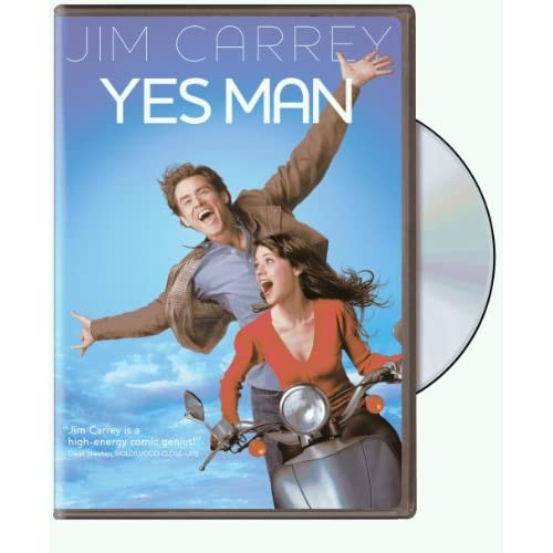 Image 0 of Yes Man Single-Disc Edition On DVD With Jim Carrey Comedy
