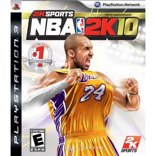 NBA 2K10 For PlayStation 3 PS3 Basketball