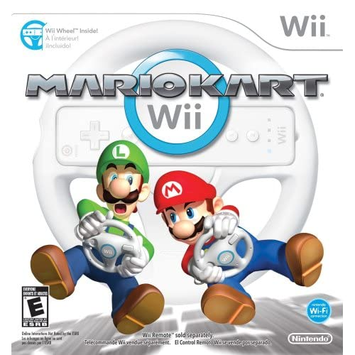Image 0 of Mario Kart Wii With Wii Wheel For Wii And Wii U