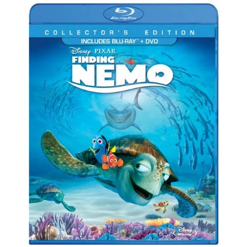 Image 0 of Finding Nemo Three-Disc Edition: Blu-Ray/dvd In Packaging On Blu-Ray With Albert