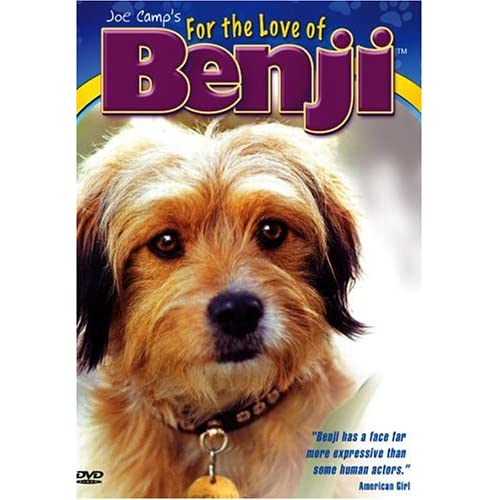 Image 0 of Benji: For The Love Of Benji On DVD With Patsy Garrett Romance