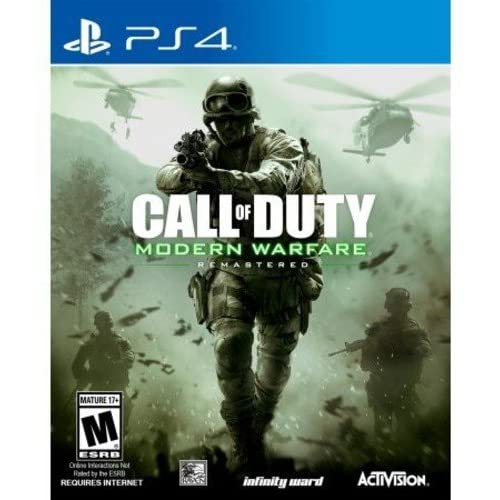 Call Of Duty: Modern Warfare Remastered For PlayStation 4 PS4 COD Fighting