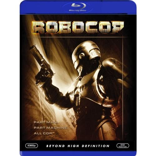 Image 0 of Robocop With Peter Weller On Blu-Ray