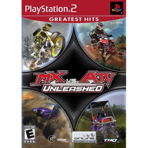 MX Vs ATV Unleashed For PlayStation 2 PS2 Flight