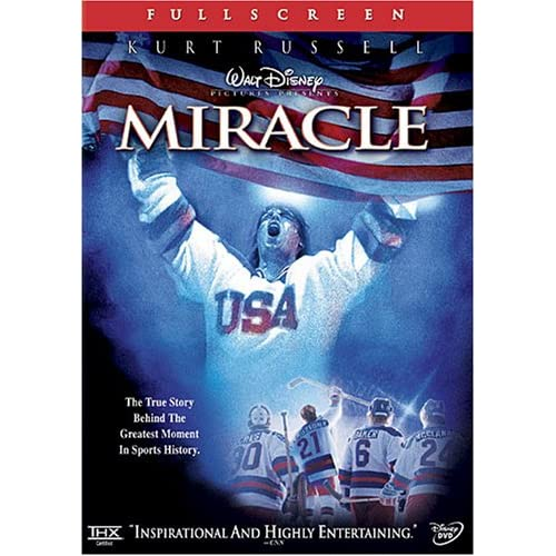 Image 0 of Miracle Full Screen Edition On DVD With Kurt Russell Disney