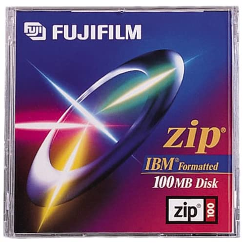 Image 0 of FujiFilm 100MB IBM Pre-Formatted Zip Disk 1-pack Software