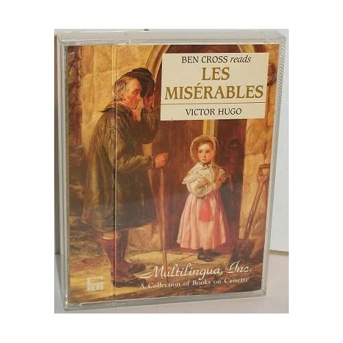 Image 0 of Les Miserables The Cassette Library Of The World's Great Books By Victor Hugo An