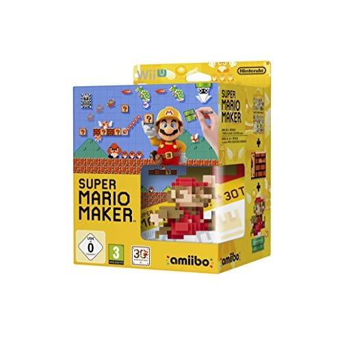 Image 0 of Nintendo Super Mario Maker Game And Mario Amiibo For Wii U