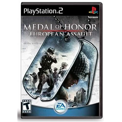 Medal Of Honor European Assault For PlayStation 2 PS2