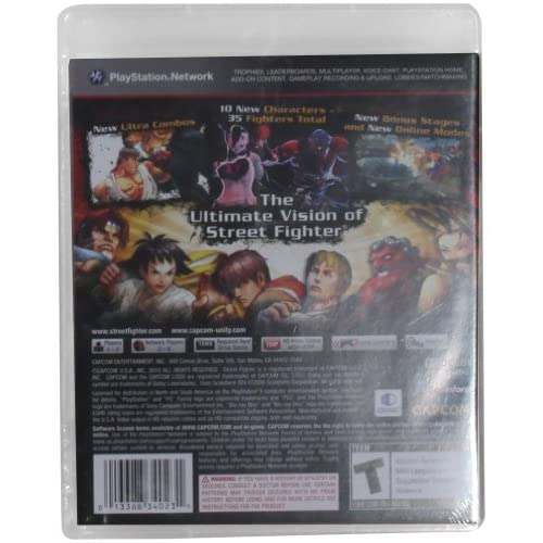 Image 3 of Super Street Fighter IV For PlayStation 3 PS3 Fighting