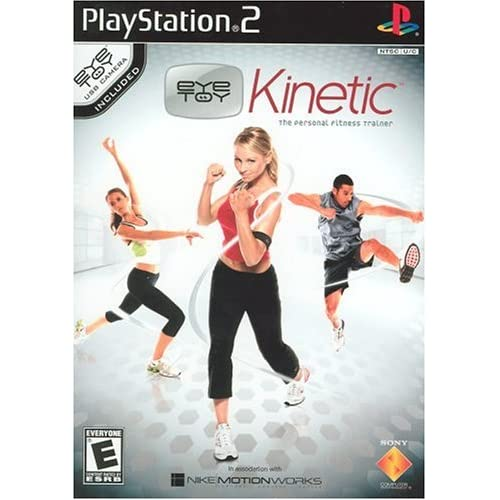 Eye Toy Kinetic For PlayStation 2 PS2