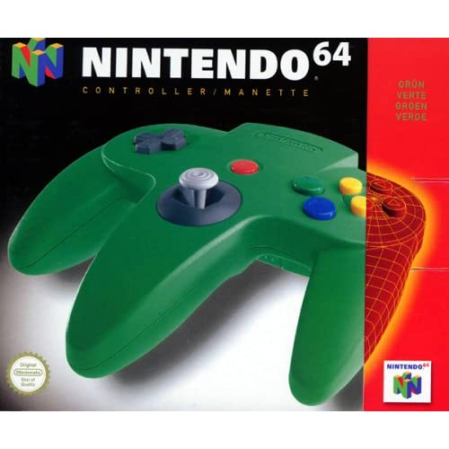 Image 0 of Controller Green For N64 Nintendo OEM Gamepad DHY329