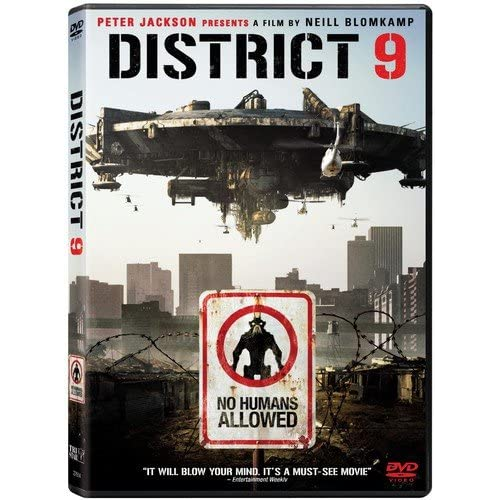 Image 0 of District 9 Single-Disc Edition On DVD With Sharlto Copley Drama