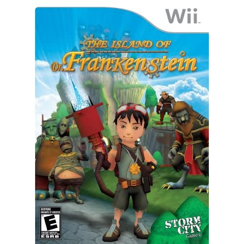 Image 0 of Island Of Dr Frankenstein For Wii and Wii U