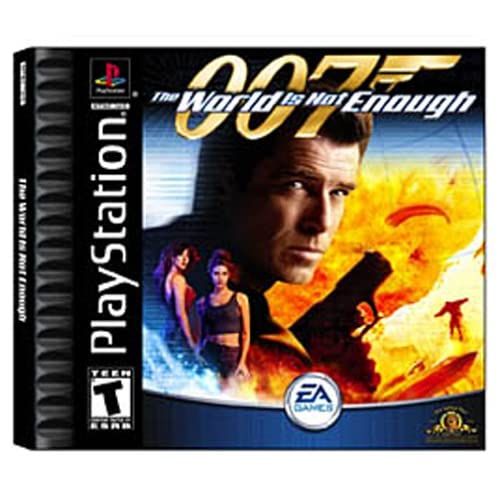 007 The World Is Not Enough Ps For PlayStation 1 PS1