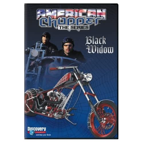 Image 0 of American Chopper Black Widow On DVD with Paul Teutul Sr