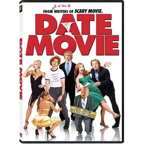 Image 0 of Date Movie On DVD With Alyson Hannigan Comedy