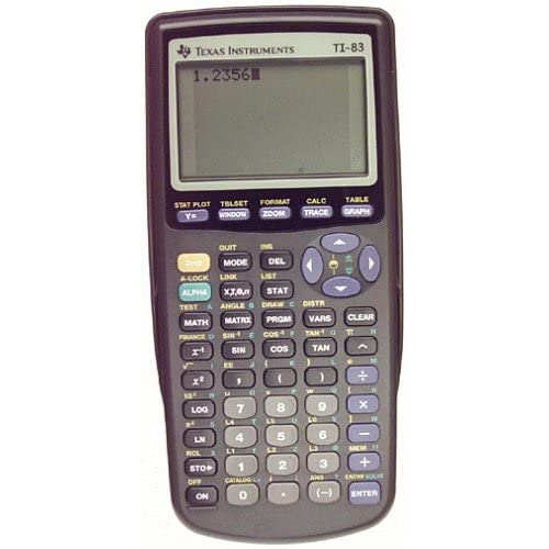 Image 0 of Texas Instruments TI-83 Graphing Calculator Handheld TI83