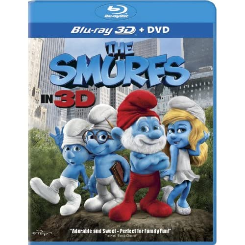 Image 0 of The Smurfs In 3D On Blu-Ray With Hank Azaria Comedy