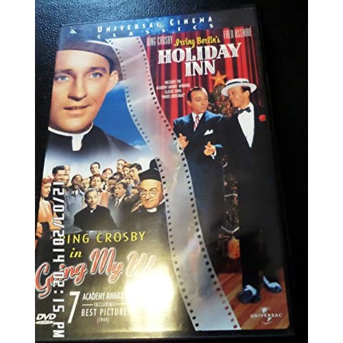 Image 0 of Bing Crosby Double Feature:going My Way / Holiday Inn On DVD With Fred Astaire