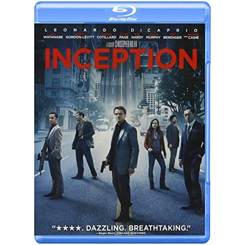 Inception Blu-Ray With Leonardo Dicaprio