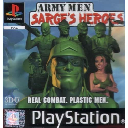 Army Men: Sarges Heroes By 3DO For PlayStation 1 PS1