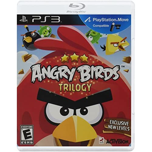 Angry Birds Trilogy For PlayStation 3 PS3