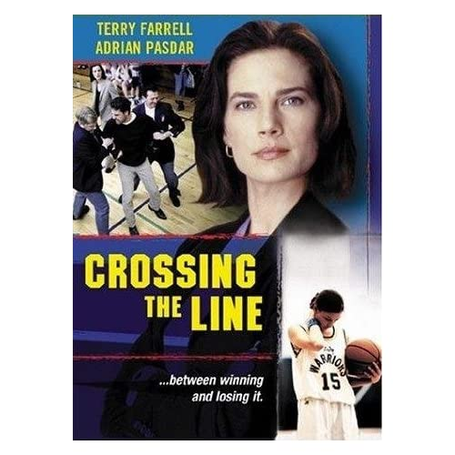 Image 0 of Crossing The Line On DVD With Adrian Pasdar Terry Farrell