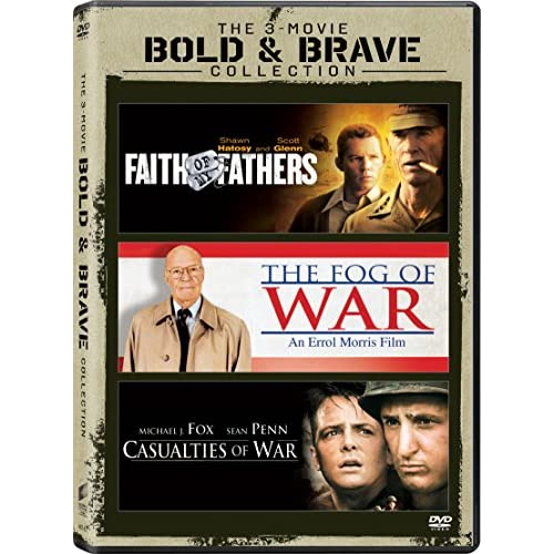 Image 0 of Casualties Of War / Faith Of My Fathers Vol / Fog Of War The Set On DVD With Rob