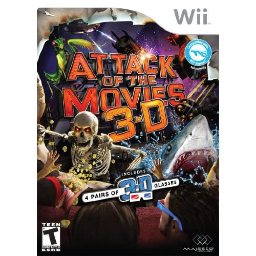 Image 0 of Attack Of The Movies 3D For Wii And Wii U