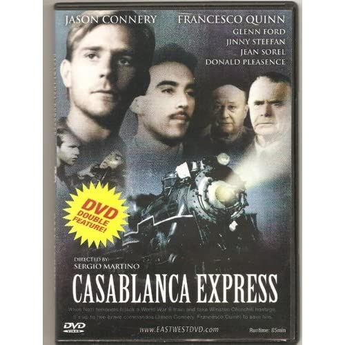 Image 0 of Casablanca Express / Cafe Express Double Feature By Glenn Ford On DVD