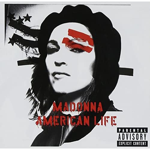 American Life By Madonna 2003 Enhanced On Audio CD Album