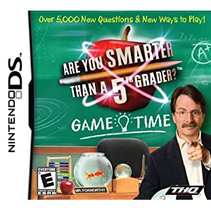 Are You Smarter Than A 5th Grader: Game Time Trivia For Nintendo DS DSi 3DS 2DS