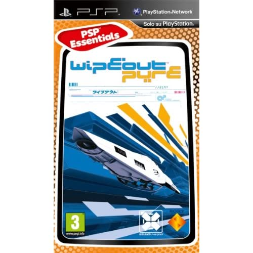 Image 0 of Wipeout Pure For PSP UMD Racing