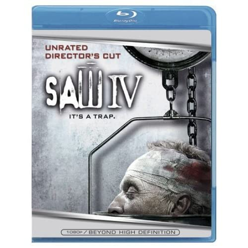 Image 0 of Saw IV Blu-Ray On Blu-Ray With Tobin Bell