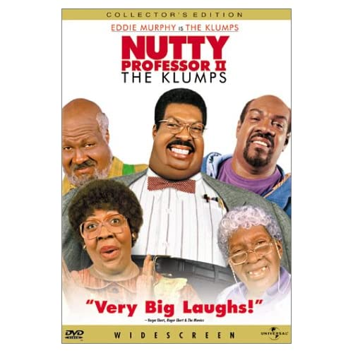 Nutty Professor II The Klumps Edition On DVD with Eddie Murphy