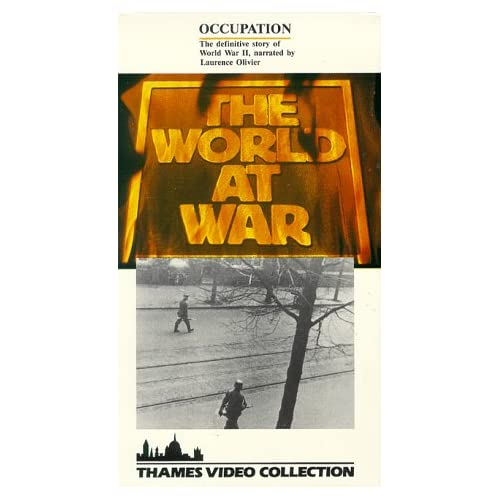 Image 0 of World At War:Occupation/Slipsleeve On VHS With Laurence Olivier