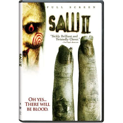 Image 0 of Saw II Full Screen Edition On DVD With Donnie Wahlberg