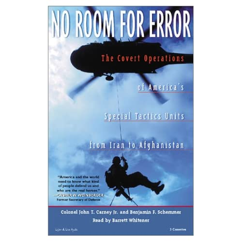 Image 0 of No Room For Error: The Covert Operations Of America's Special Tactics Units From