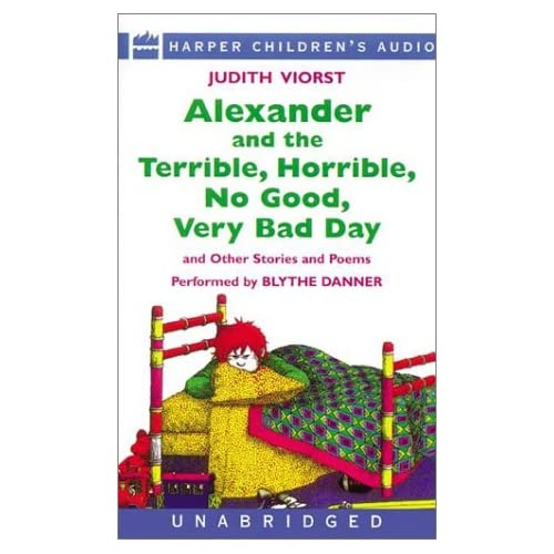 Image 0 of Alexander And The Terrible Horrible No Good Very Bad Day And Other Stories By Vi